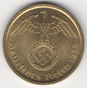 10 Reichspfennig reverse