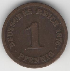 1 Pfennig obverse