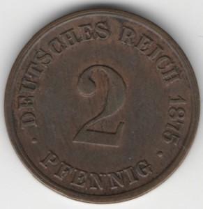 2 Pfennig obverse