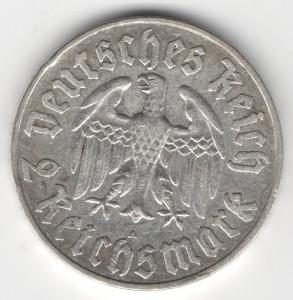 2 Reichsmark obverse