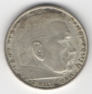 2 Reichsmark reverse