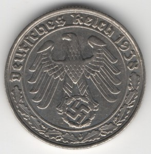 50 Reichspfennig reverse