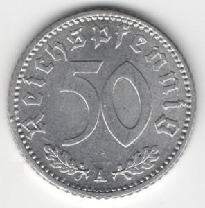 50 Reichspfennig obverse