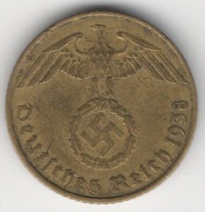 5 Reichspfennig reverse