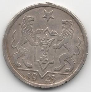 1 Gulden Danzig reverse