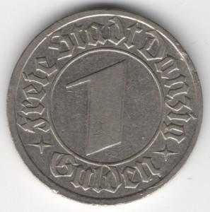 1 Gulden Danzig obverse