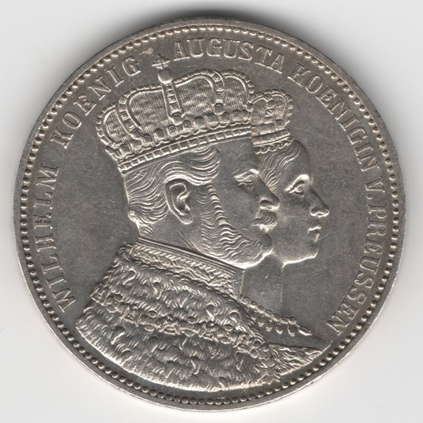 Prussia - Coronation Thaler 1861