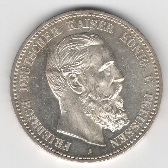 Prussia - 5 Mark 1888