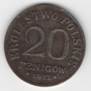 20 Fenigow obverse