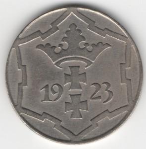 10 Pfennige Danzig reverse