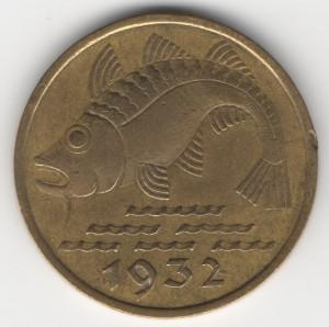 10 Pfennig Danzig reverse