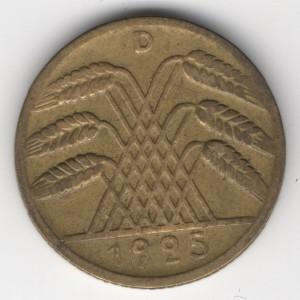 10 Pfennig reverse