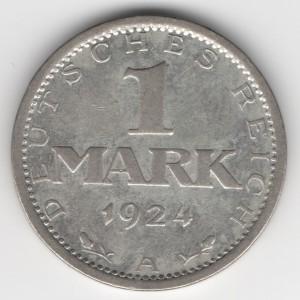 1 Mark obverse