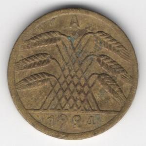 50 Pfennig reverse
