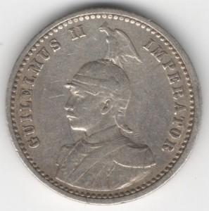 German East Africa 1/4 Rupee reverse