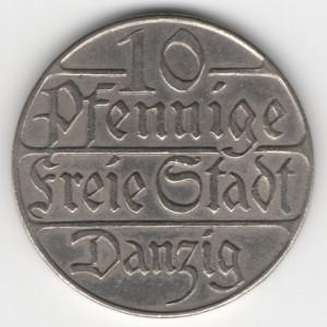 German colonial coins Danzig