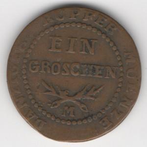 Danzig 1 Groschen 1809 M obverse