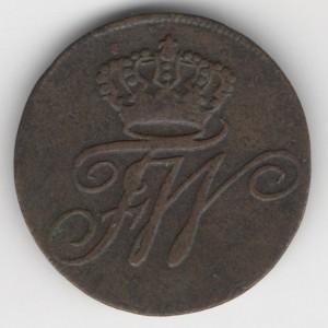 Danzig 1 Schilling 1801 A reverse