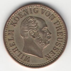 Prussia 1/2 Silbergroschen reverse