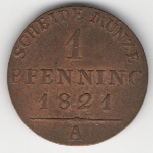 Prussia 1 Pfennig