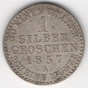 Prussia 1 Silbergroschen obverse