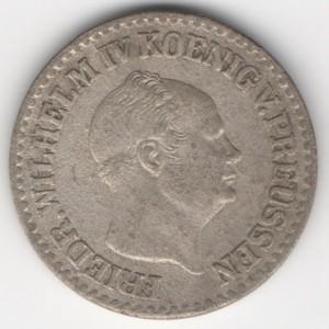 Prussia 1 Silbergroschen reverse
