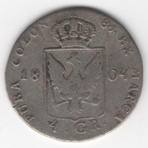 Prussia 4 Groschen obverse