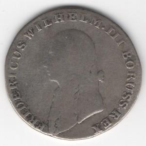 Prussia 4 Groschen reverse
