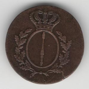 Brandenburg 1 Pfennig reverse