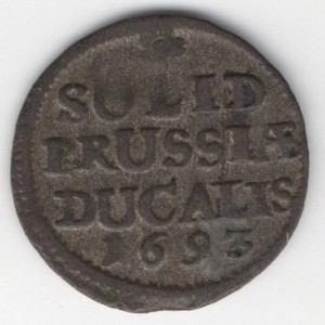 Prussia 1 Solidus obverse
