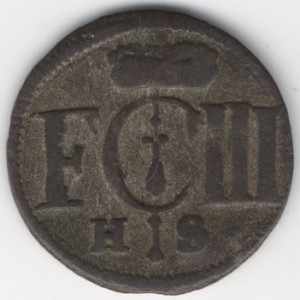 Prussia 1 Solidus reverse