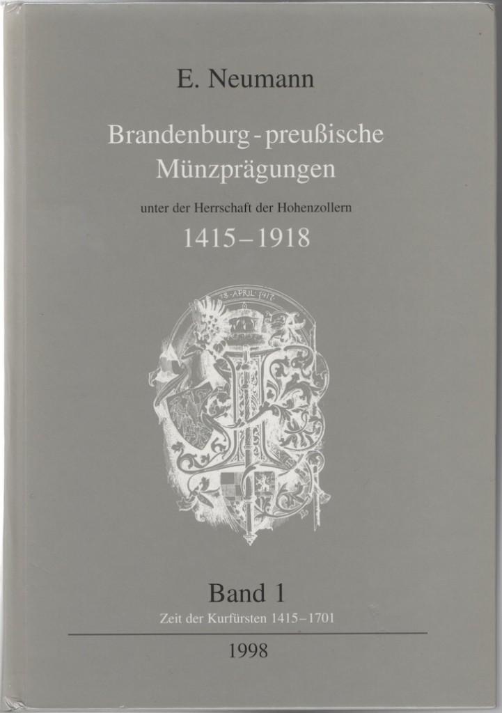 German coins catalog : Brandenburg-preußische Münzprägungen by Neumann