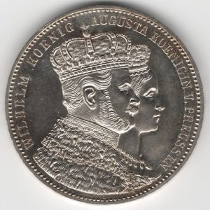 Prussia 1 Thaler reverse