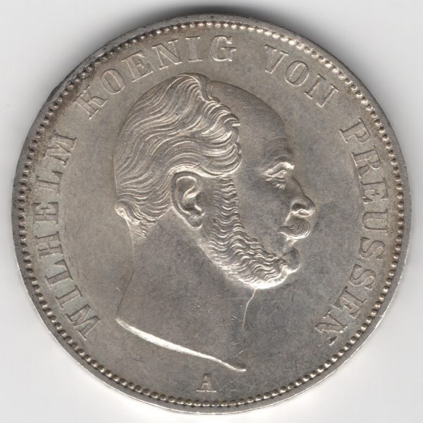Prussia 1 Thaler 1862