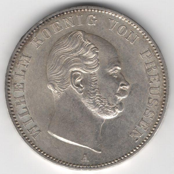 Prussia 1 Thaler 1862