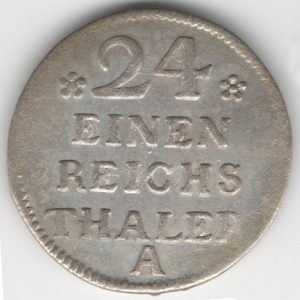 Prussia 1/24 Thaler 1752 A obverse
