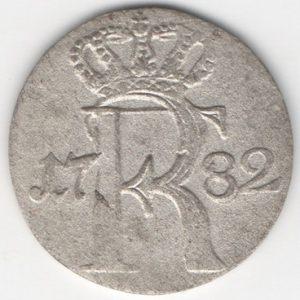 Prussia 1/24 Thaler 1782 A reverse
