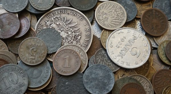German coins value