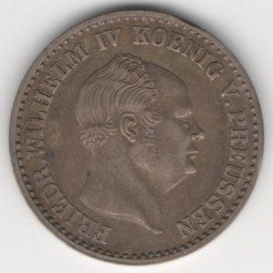Prussia 2 1/2 Silbergroschen 1857 A reverse