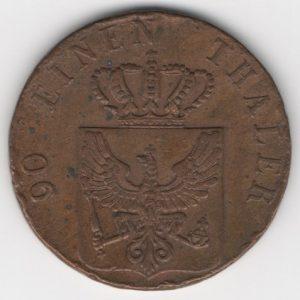 Prussia 4 Pfennig 1939 A obverse