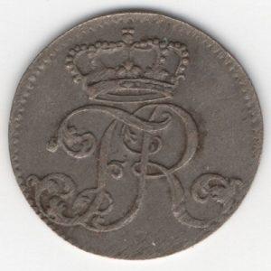 Prussia 1/48 Thaler reverse