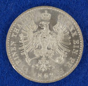 Prussia 1/6 Thaler obverse