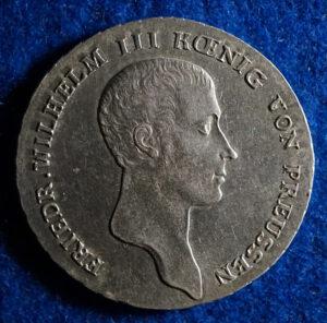 Prussia 1 Thaler reverse